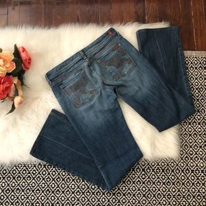 7 For All Mankind Jeans Flynt Medium Wash 29